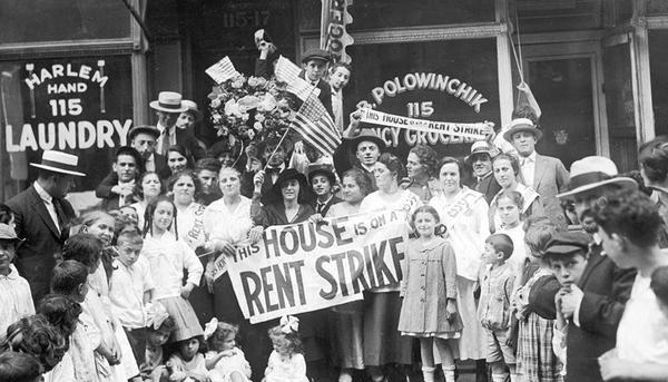 Rent Strike, New York Times, 1919