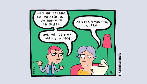 Confinamiento, por Mauro Entrialgo