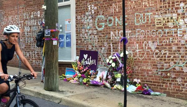 Memorial de Heather Heyer en Charlottesville