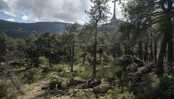 Proyecto arqueológico del Valle de los Caídos. Los campos de trabajo. - 12
