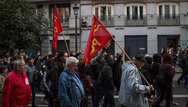 191019 Manifestación antifascista  Madrid - 5
