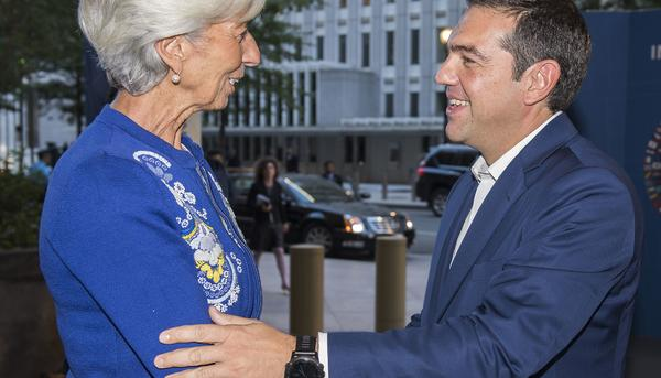 Tsipras Christine Lagarde