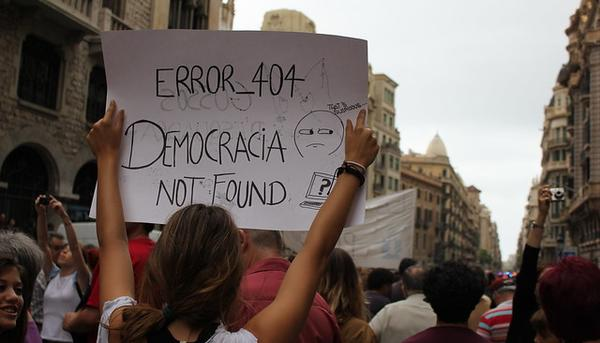 Democracia Not Found