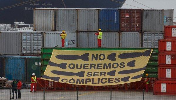 Greenpeace Puerto de Bilbao