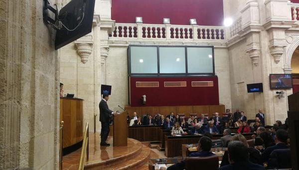 Pleno Junta de Andalucía
