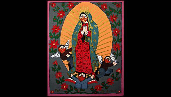 Virgen Guadalupe zapatista