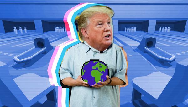 Trump mundo montaje