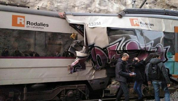 Accidente tren