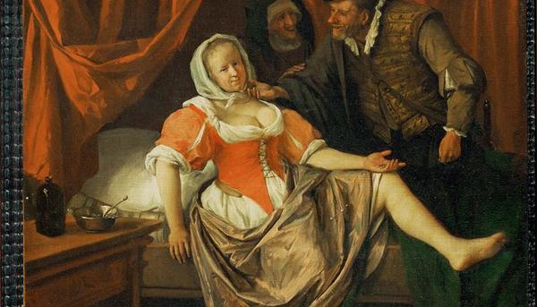 The Wench, c.1660-62, oil on canvas, 40 x 36.2 cm