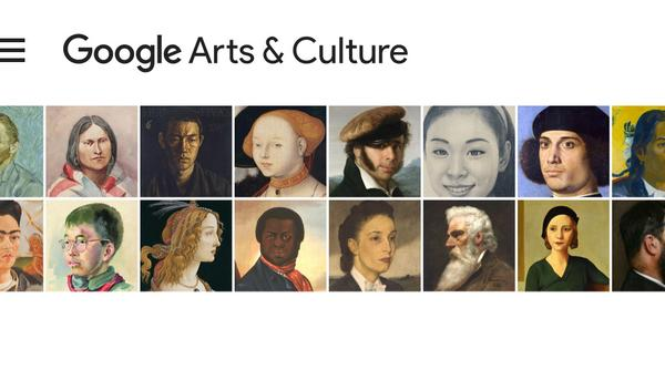 Google Arts and Culture ha presentado su app Art Selfie