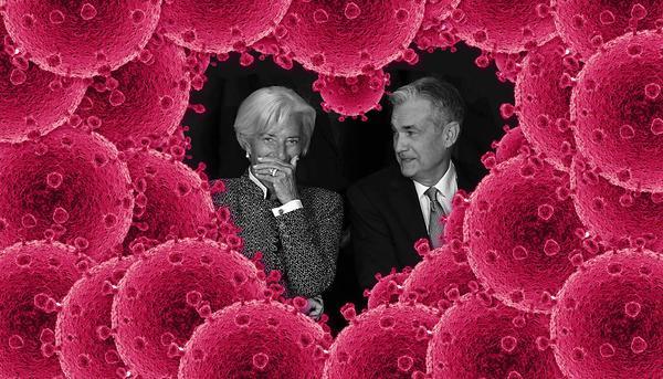 Coronavirus Lagarde Powell