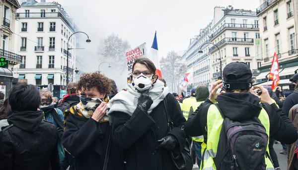 Protestas París