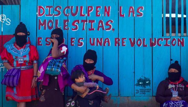 Primer Encuentro Internacional de Mujeres que Luchan, marzo de 2018 (1) (Radio Zapatista/La Tinta/SubVersiones)