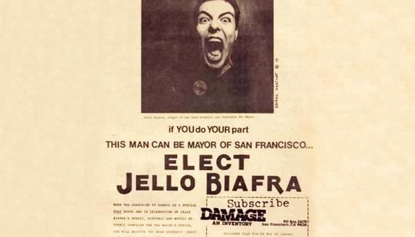 Jello Biafra mayor