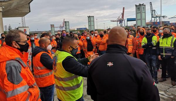 Huelga Estibadores Bilbao