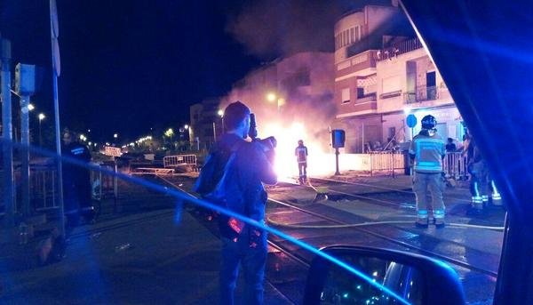 Murcia Soterramiento Incidentes Incendio