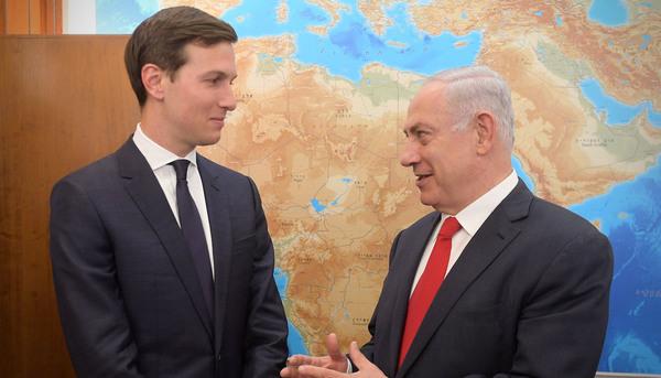 Benjamin Netanyahu y Jared Kushner
