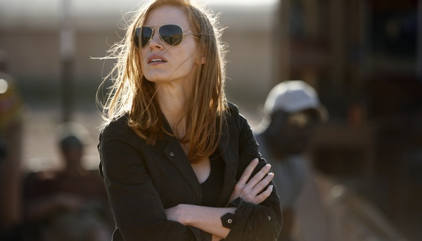 Jessica Chastain en Zero Dark Thirty