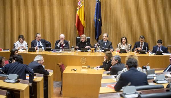 Comparecencia de Rodrigo Rato en la comisión de Investigación