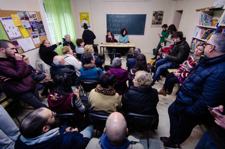 Momento de la charla. Foto: Pablo Fernández