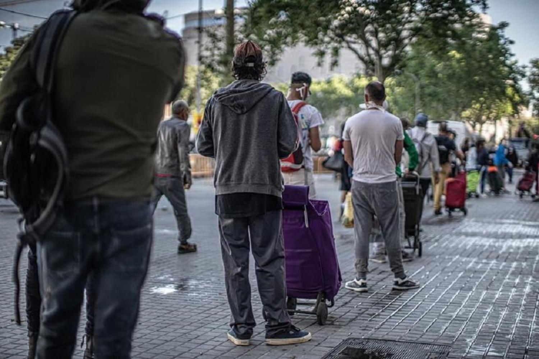 Desigualdad y pobreza en España con la crisis del Coronavirus. - E. M.