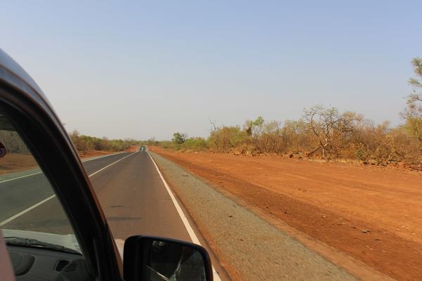 Construccion carretera Africa