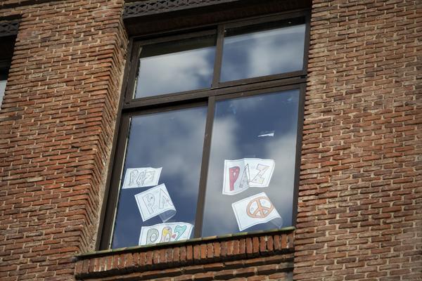 Centro educativo cerrado durante el estado de alarma DAVID F. SABADELL