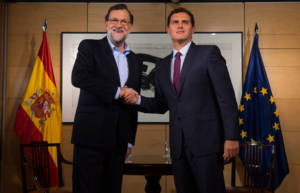 Rajoy Rivera Reunión