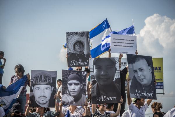 Marcha Upoli -Nicaragua