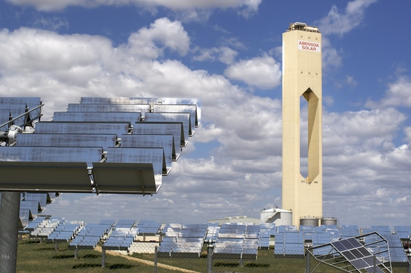 Planta solar de Abengoa