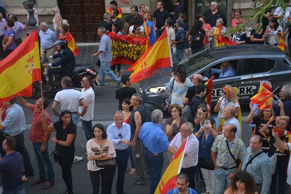 Concentracion fascistas valencia 2