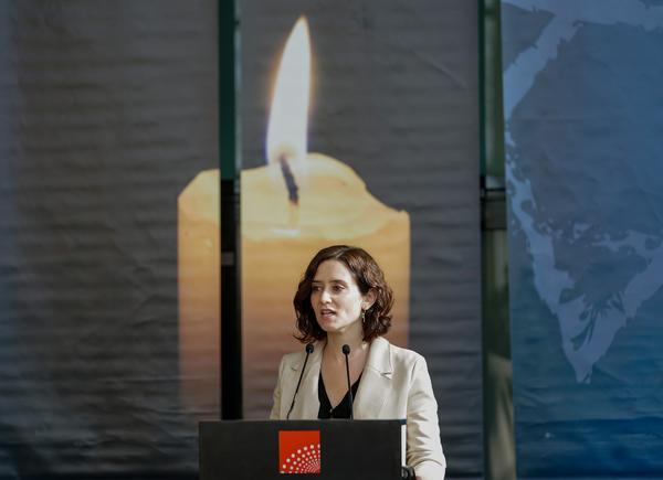 La presidenta de la Comunidad de Madrid, Isabel Díaz Ayuso. Foto: Comunidad de Madrid
