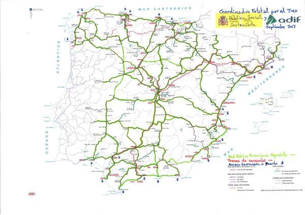 mapa 4 tren