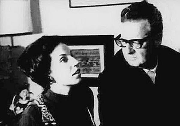 Isabel Allende Bussi y Salvador Allende.