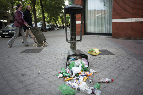 Envases basura