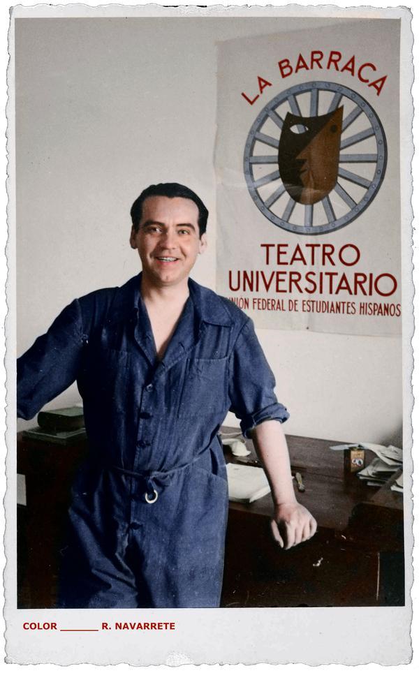 Federico García Lorca La Barraca Teatro Universitario