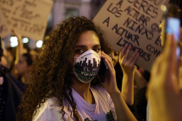 Manifestación por el clima en Madrid. Elvira Megías