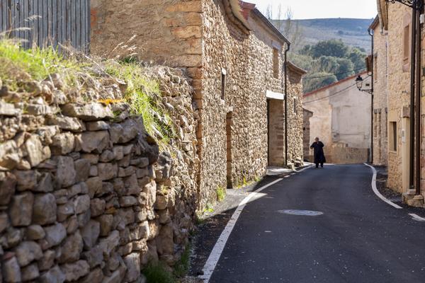 Mujer entorno rural