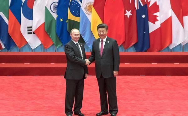 Xi Jinping Vladimir Putin