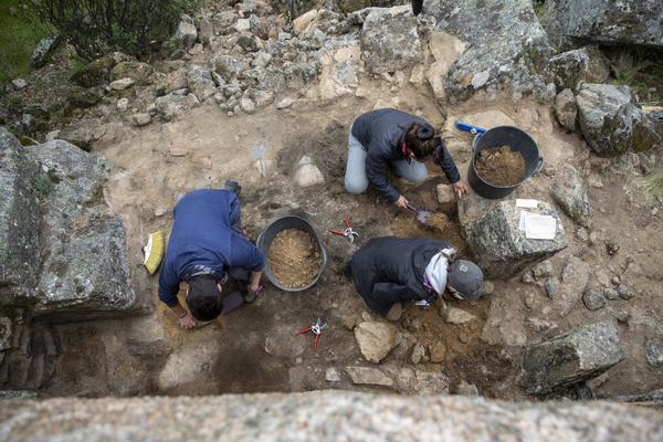 Proyecto arqueológico del Valle de los Caídos. Los campos de trabajo. - 5