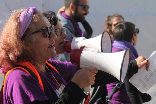 Marcha feminista Bornos 16