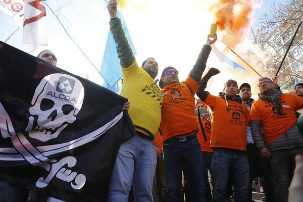 Alcoa manifestacion Madrid 4