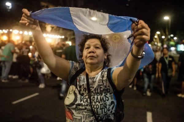 Argentina -protestas