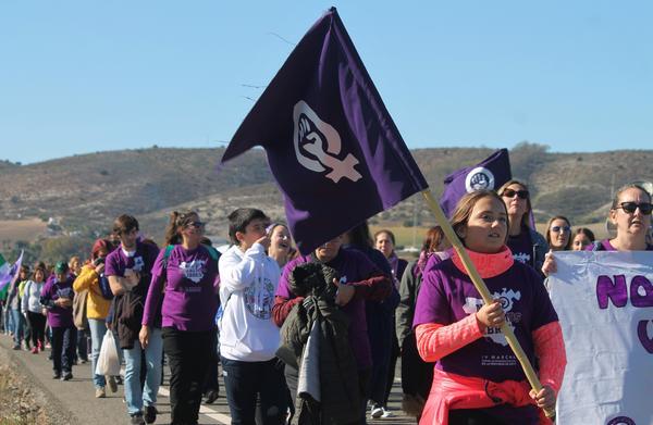 Marcha feminista Bornos 14