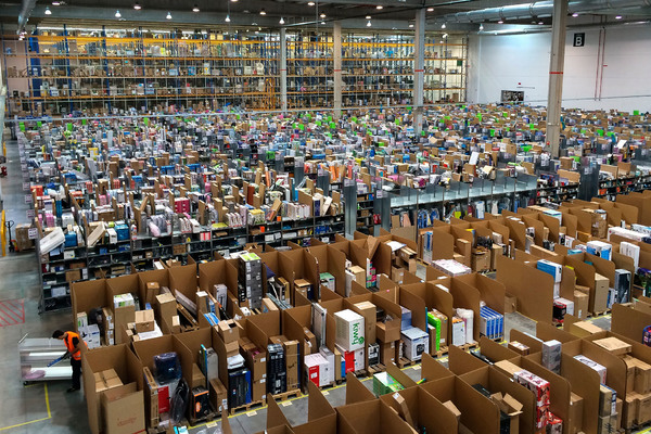 Amazon España Almacen