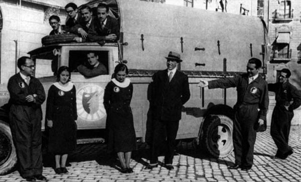 La Barraca camión