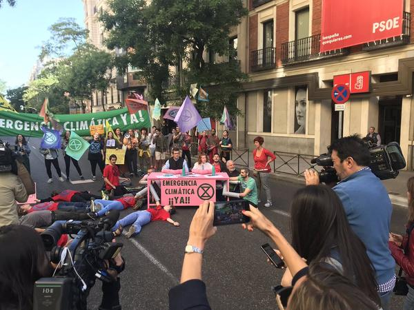 Extinction Rebellion Ferraz