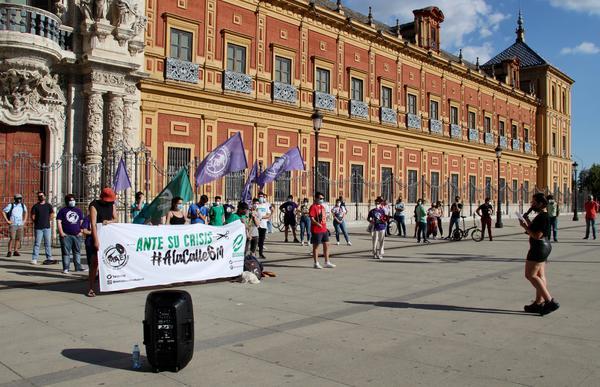Concentración estudiantes Andalucía 3
