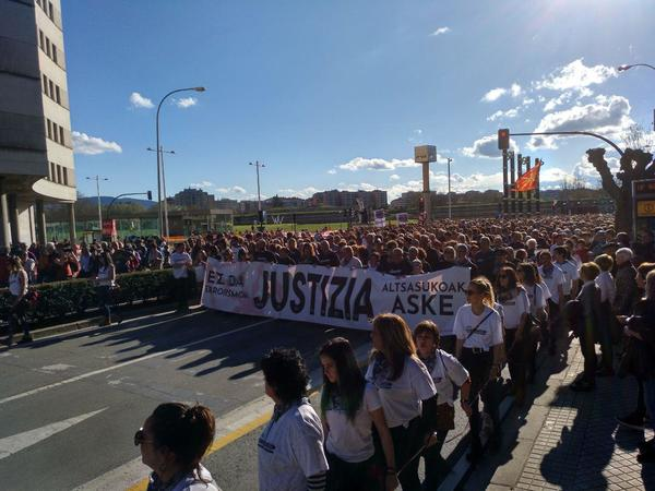 Manifestacion Altsasu