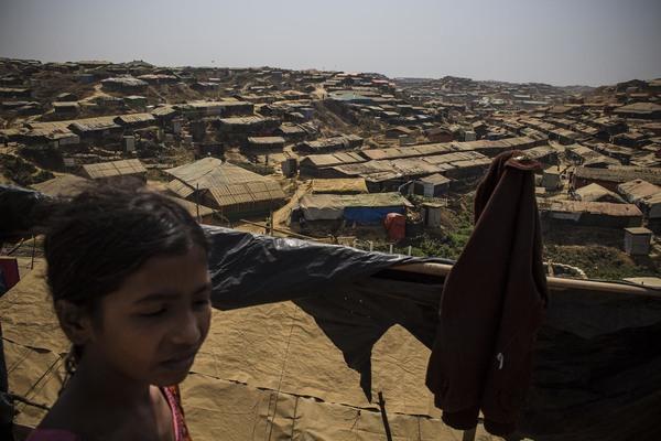 Campamento de refugiados de Kutupalong: el más grande del mundo